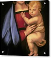 Madonna Del Granduca Acrylic Print