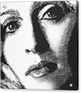Madonna Acrylic Print by Max Eberle