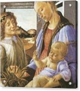 Madonna Of The Eucharist Acrylic Print