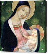 Madonna Of The Fir Tree Acrylic Print