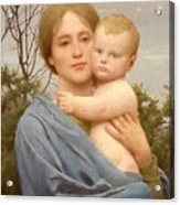 Madonna Of The Mount  Acrylic Print by Thomas Cooper Gotch