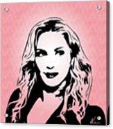Madonna - Pop Art Acrylic Print