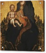 Madonna With Angels 1410 Acrylic Print