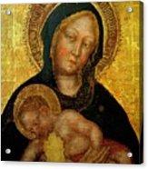 Madonna With Child Gentile Da Fabriano 1405 Acrylic Print