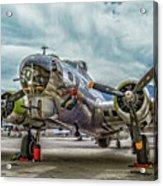 Madras Maiden B-17 Bomber Acrylic Print