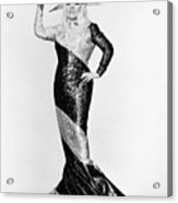 Mae West (1892-1980) Acrylic Print by Granger
