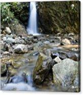 Maekutlong Waterfall Acrylic Print