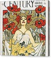 Magazine: Century, 1896 Acrylic Print