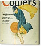 Magazine Cover, 1930 Acrylic Print