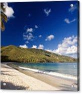 Magens Bay Morning St Thomas Us Virgin Islands Acrylic Print