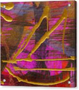 Magenta Joy Sails Acrylic Print