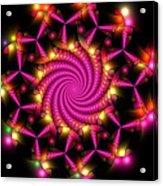 Magenta Mosaica Acrylic Print