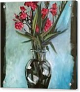 Magenta Oleander Acrylic Print