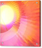 Magenta Orange Sunshine Acrylic Print
