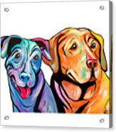 Maggie And Raven Acrylic Print