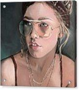 Maggie Acrylic Print