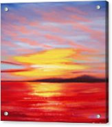 Magic At Sunset Acrylic Print
