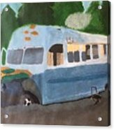 Magic Bus Acrylic Print