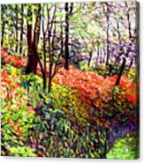 Magic Flower Forest Acrylic Print