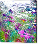Magic Garden Acrylic Print