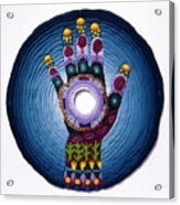 Magic Hand Acrylic Print by Arla Patch