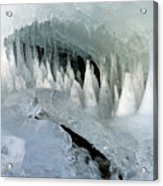 Magic Ice Cave Acrylic Print