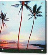 Magic Island Canvas Acrylic Print