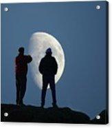 Magic Landscapes 2 -- Moon Men Acrylic Print