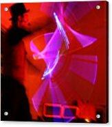 Magic Light Saber Show Acrylic Print