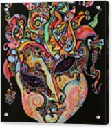 Magic Mask Acrylic Print