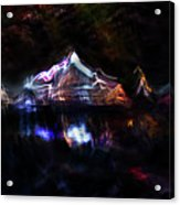 Magic Mountain Lake Acrylic Print