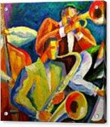 Magic Music Acrylic Print by Leon Zernitsky
