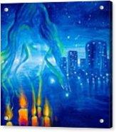 Magic Of The Night Acrylic Print