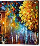 Magic Rain Acrylic Print