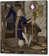 Magic Sorcerer Acrylic Print