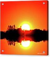 Magic Sunset  Two  Acrylic Print