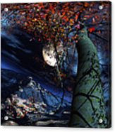 Magic Tree Of Wonder Acrylic Print