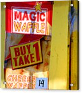 Magic Waffle Acrylic Print