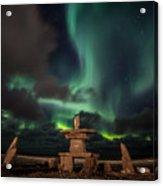 Magical Aurora Acrylic Print