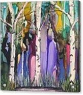 Magical Birch Acrylic Print