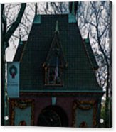 Magical Christmas Biltmore Entrance Acrylic Print