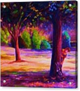 Magical Day In The Park Acrylic Print