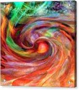 Magical Energy Acrylic Print by Linda Sannuti