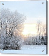 Magical March Morning Acrylic Print