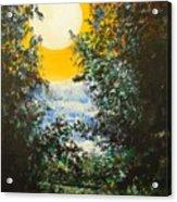Magical Moonlight Acrylic Print