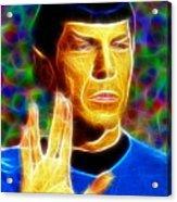 Magical Mr. Spock Acrylic Print