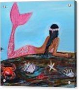 Magical Mystic Mermaid Acrylic Print