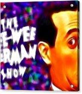 Magical Pee Wee Herman Acrylic Print