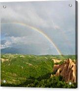 Magical Rainbow Panorama Acrylic Print