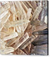 Magical Sparkly Crystals Acrylic Print